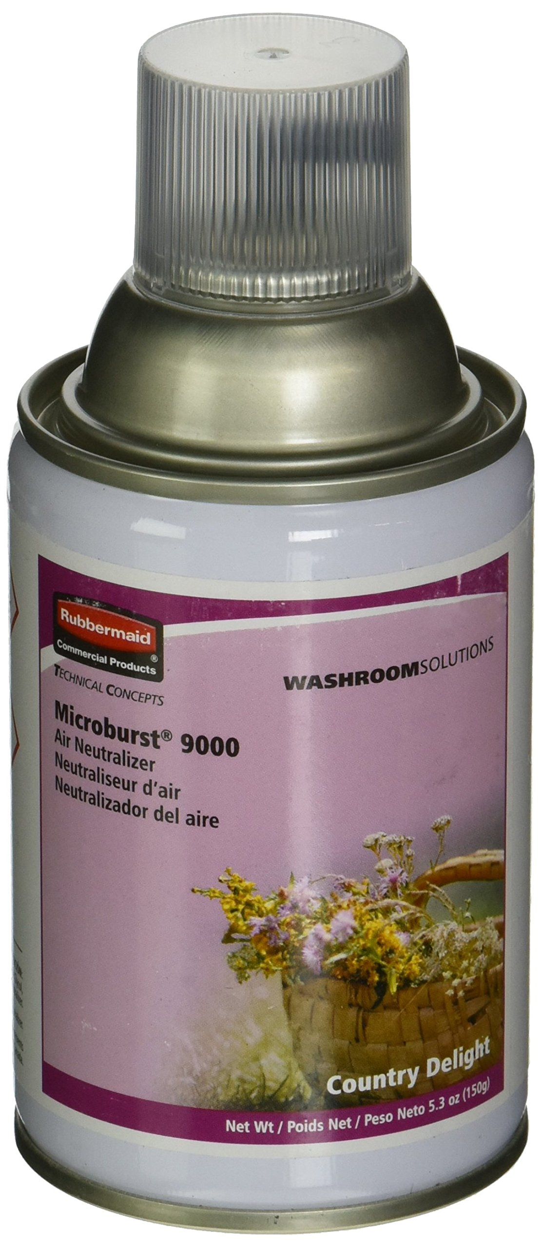 rubbermaid microburst 9000 instructions