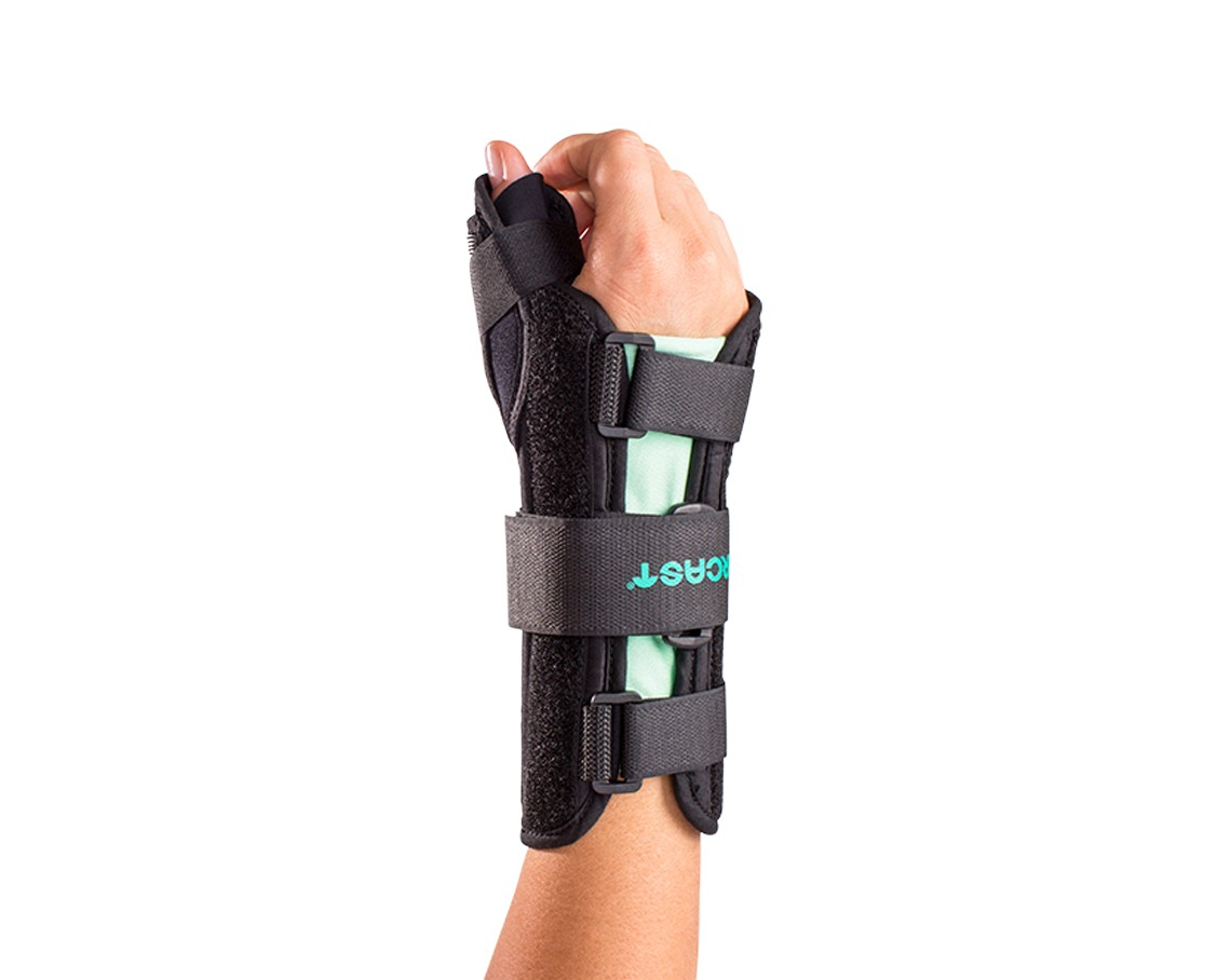 Aircast arm immobilizer instructions