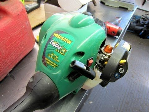 weed eater xt260 service manual