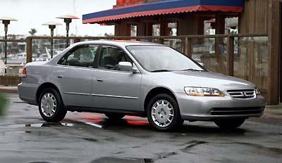 2001 honda accord 2.3 ex manual sedan