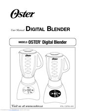 Oster 18 speed blender manual