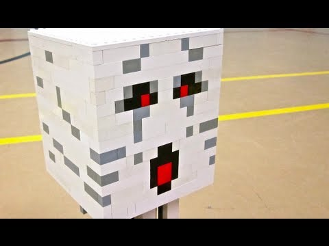 lego minecraft ghast instructions