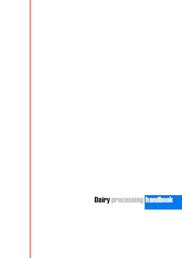 Dairy processing handbook free download