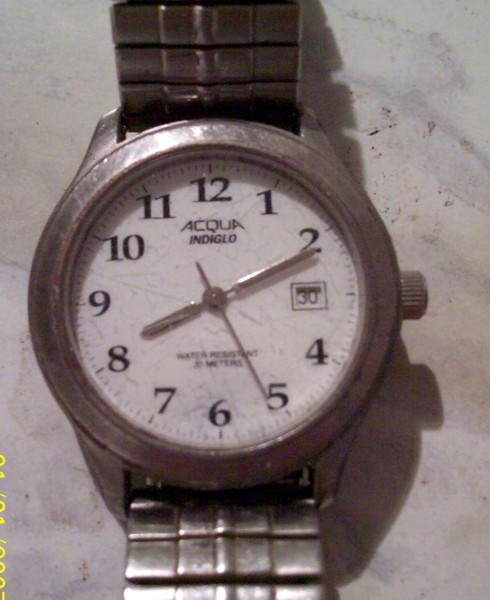 acqua indiglo 30m watch instructions