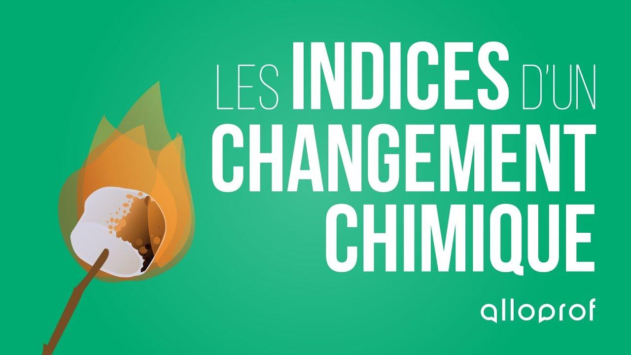 Changement chimique et physique pdf