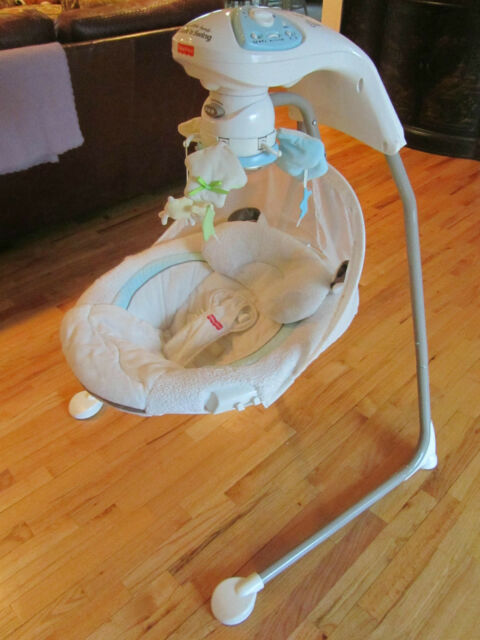 Fisher price my little lamb swing instructions