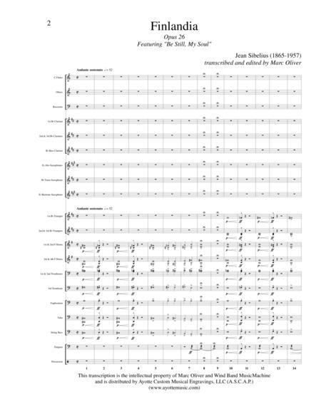 Finlandia sibelius junior band pdf