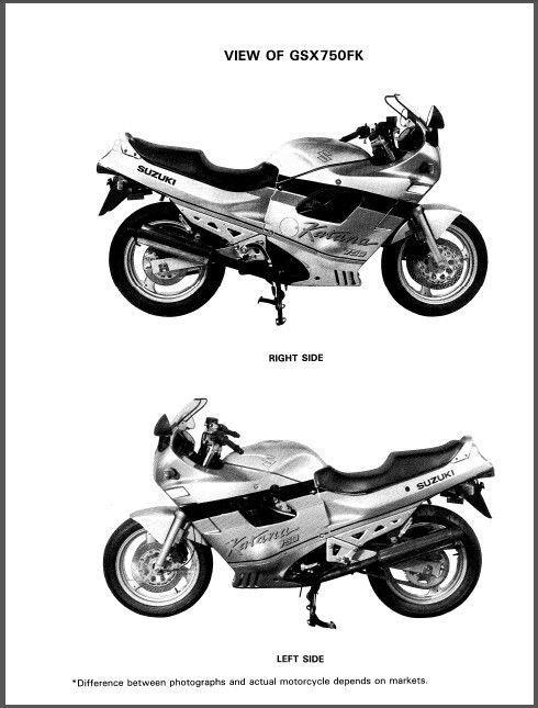 suzuki gsx 750 f service manual pdf