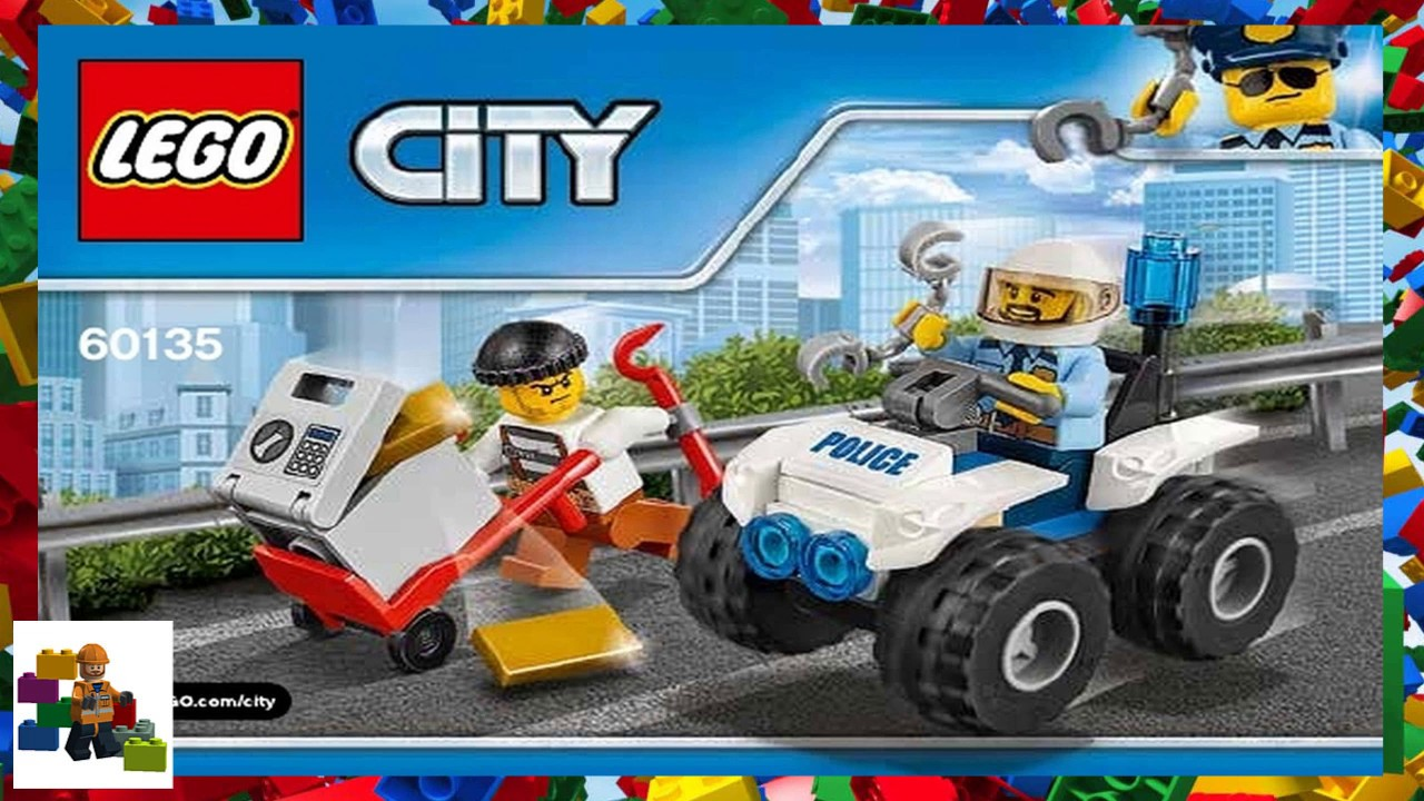 lego city 60140 instructions