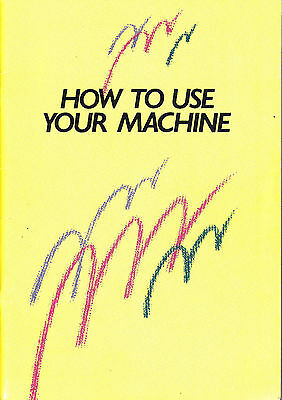 brother knitting machine manual pdf