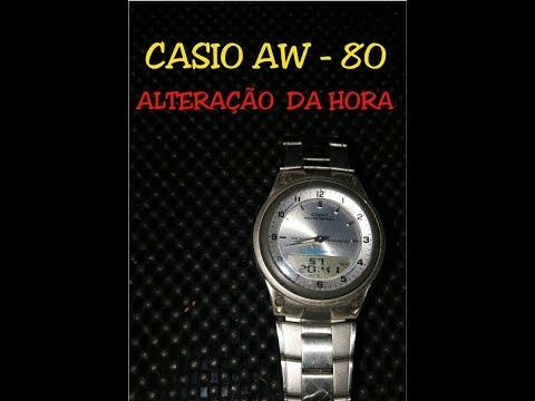 casio 2747 aw 80 manual