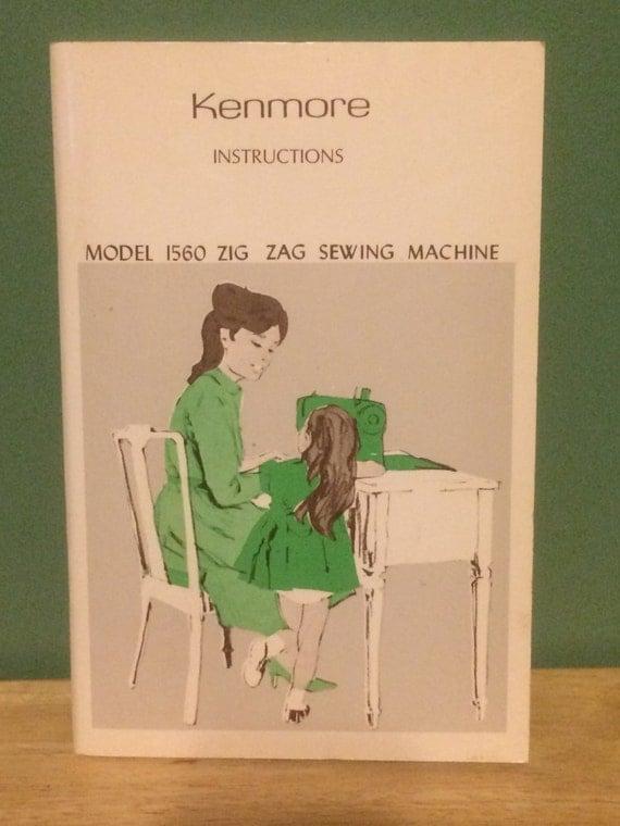 kenmore zig zag manual 158.17550