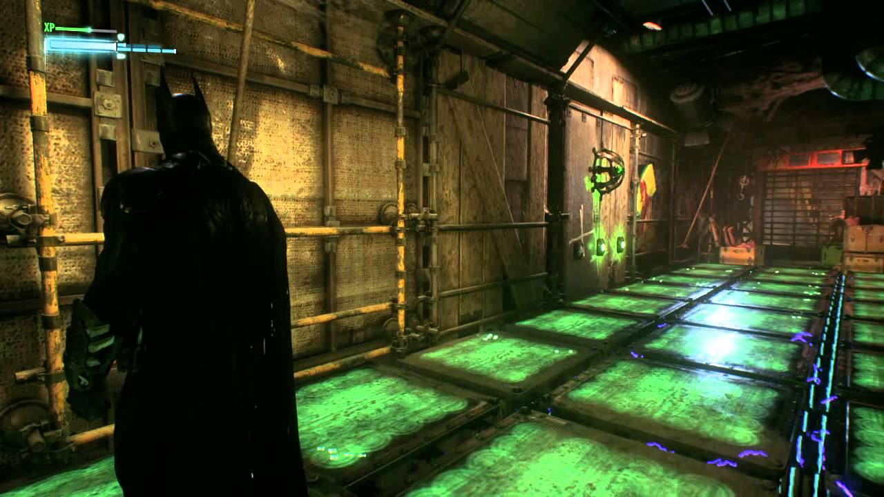 Arkham knight how to get into panessa studios