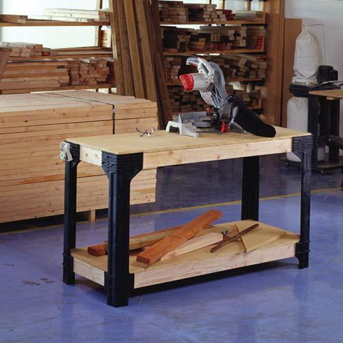 2x4 basics workbench assembly instructions