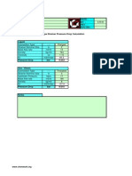 Strainer pressure drop calculation pdf