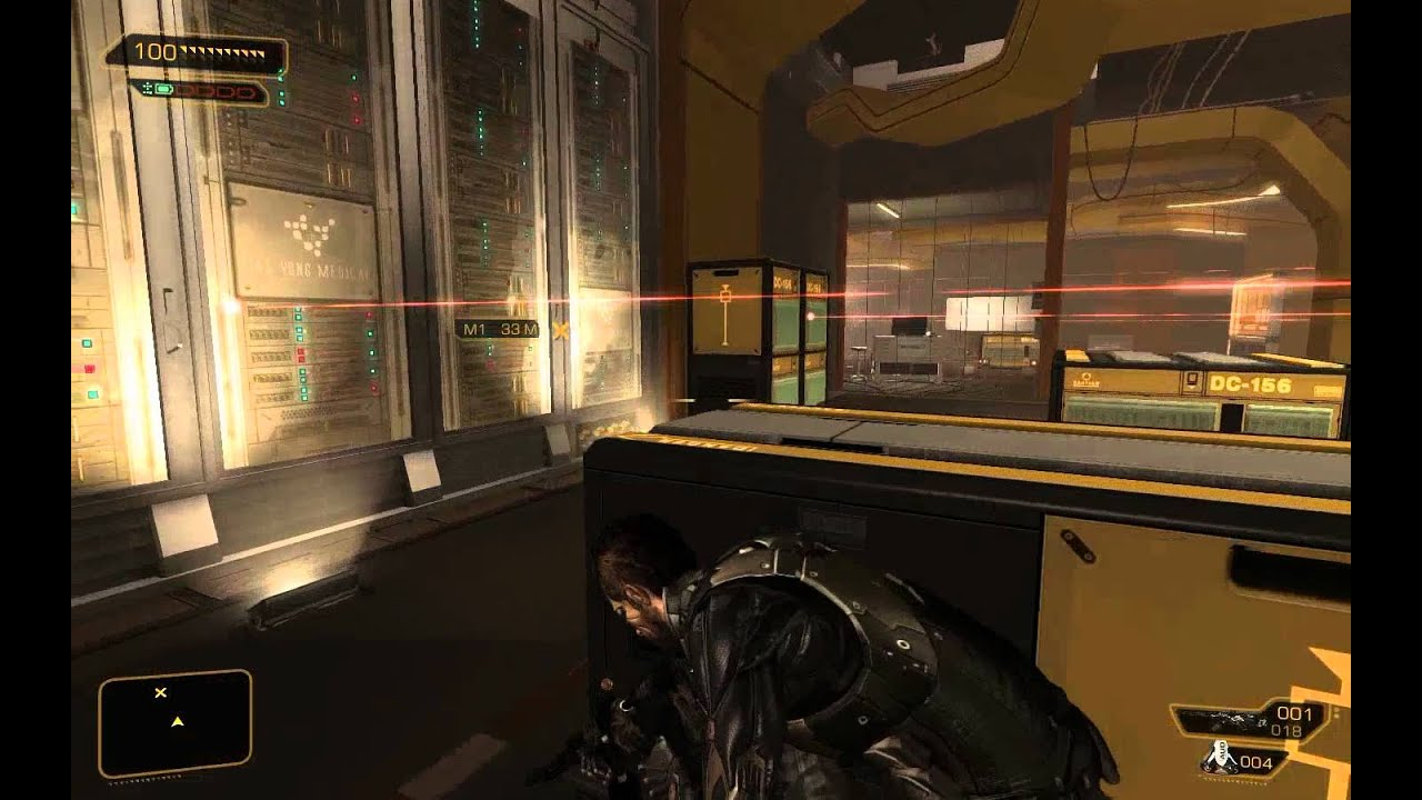 Deus ex how to get to meeting rooms