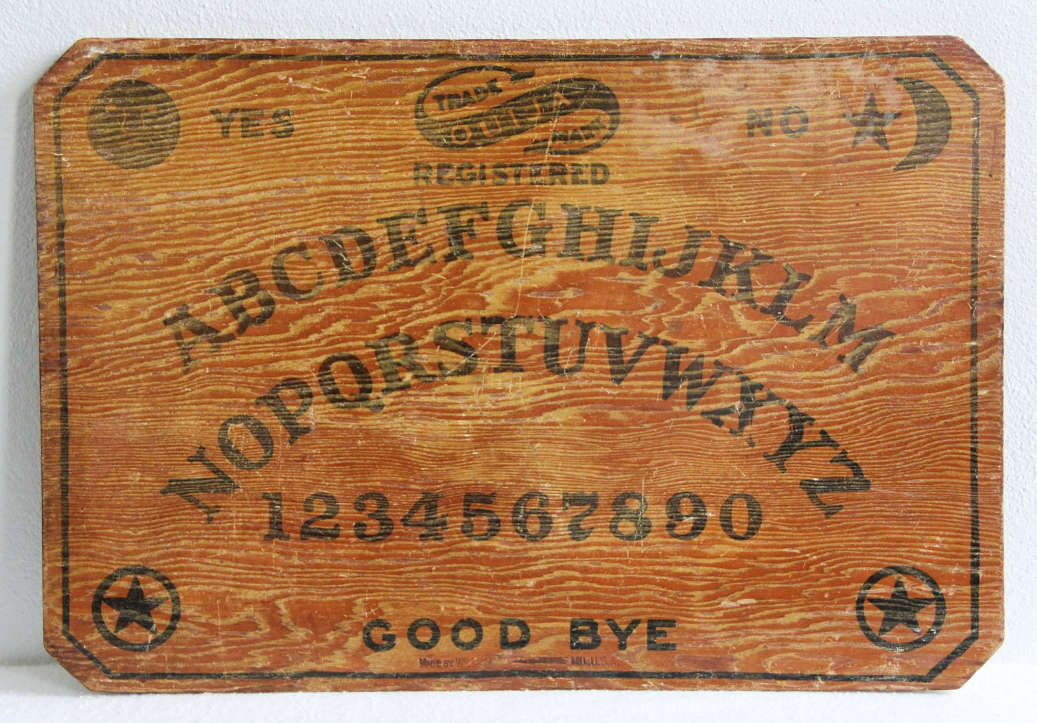 ouija board instructions homemade