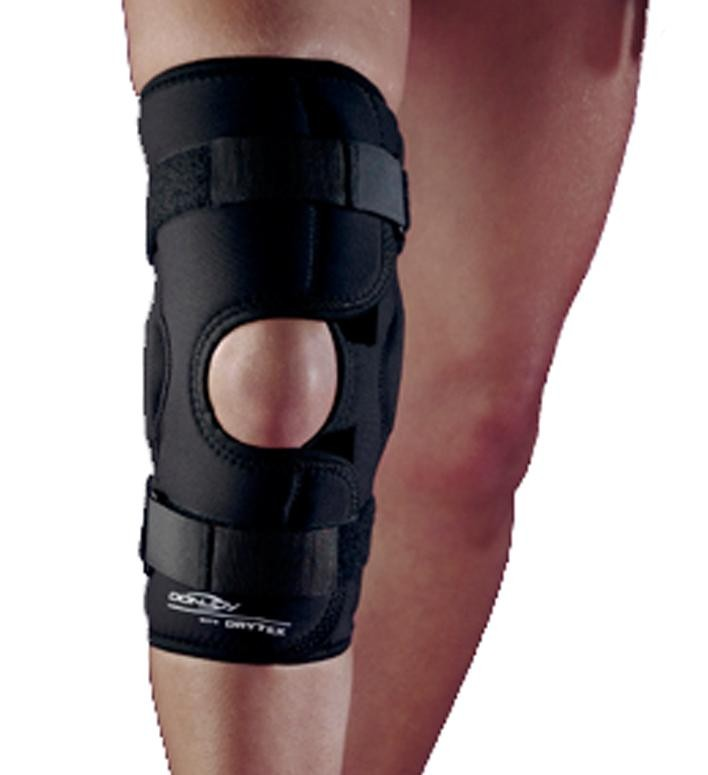 Donjoy knee brace how to put on