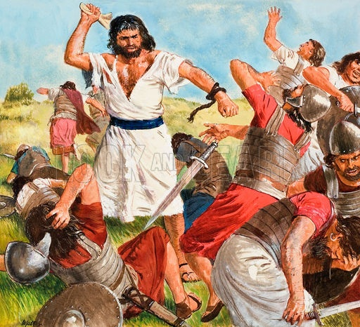 David vs goliath battle of faith parents guide