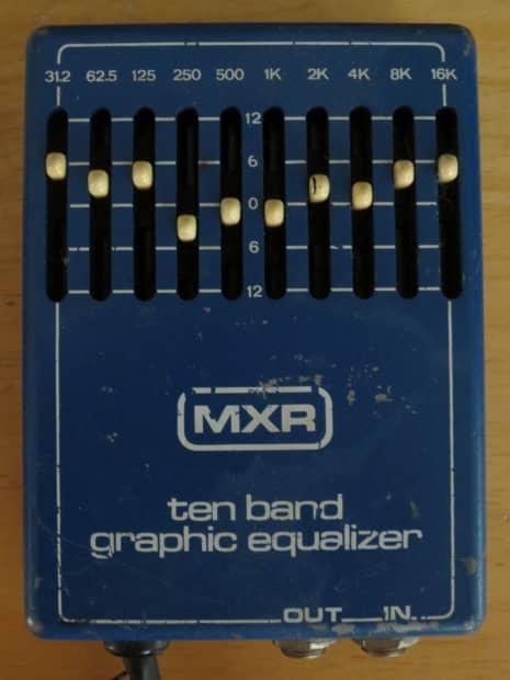 Mxr 10 band eq manual