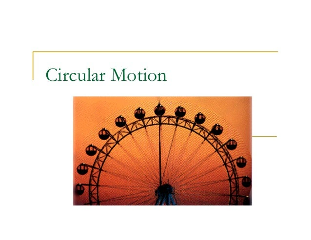Explore learning uniform circular motion pdf