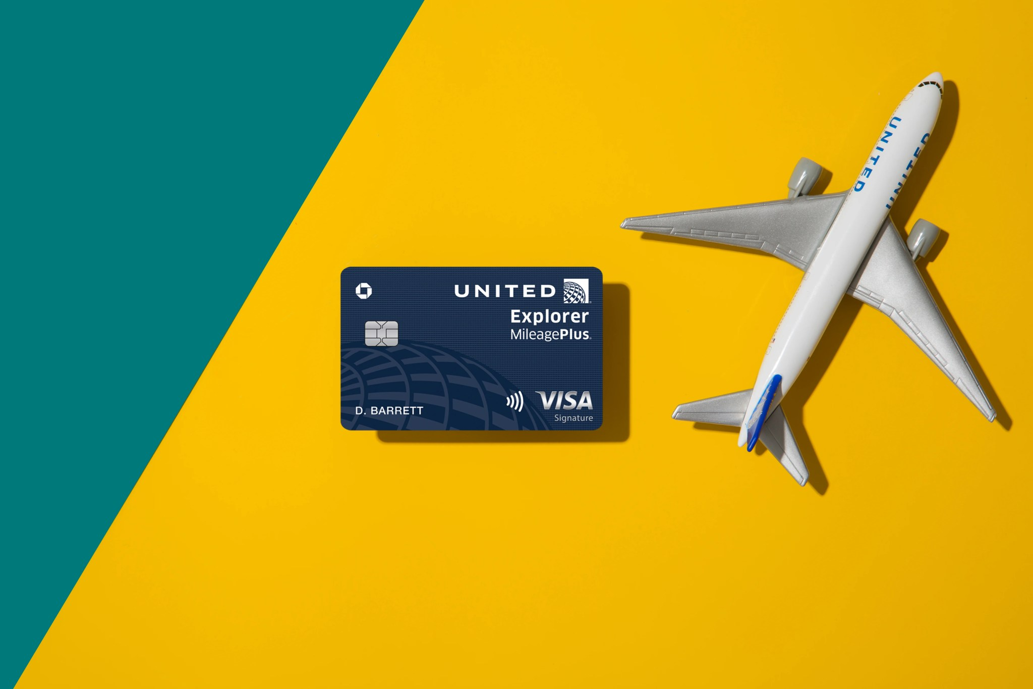 United mileageplus select visa card application