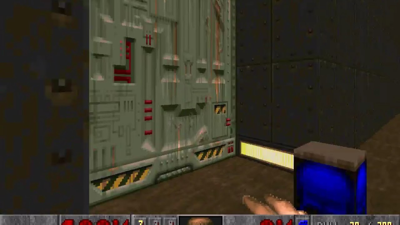 Doom 2 how to get red key