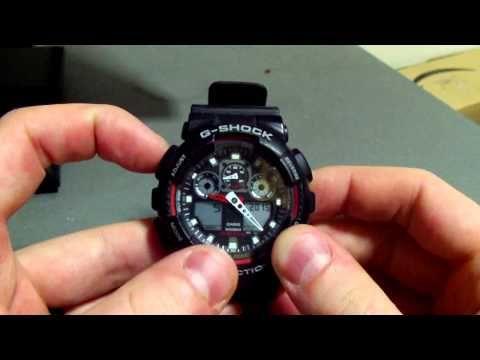 Casio g shock 5081 instructions