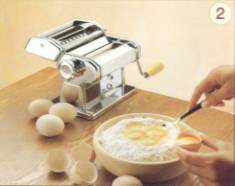Al dente pasta machine instructions