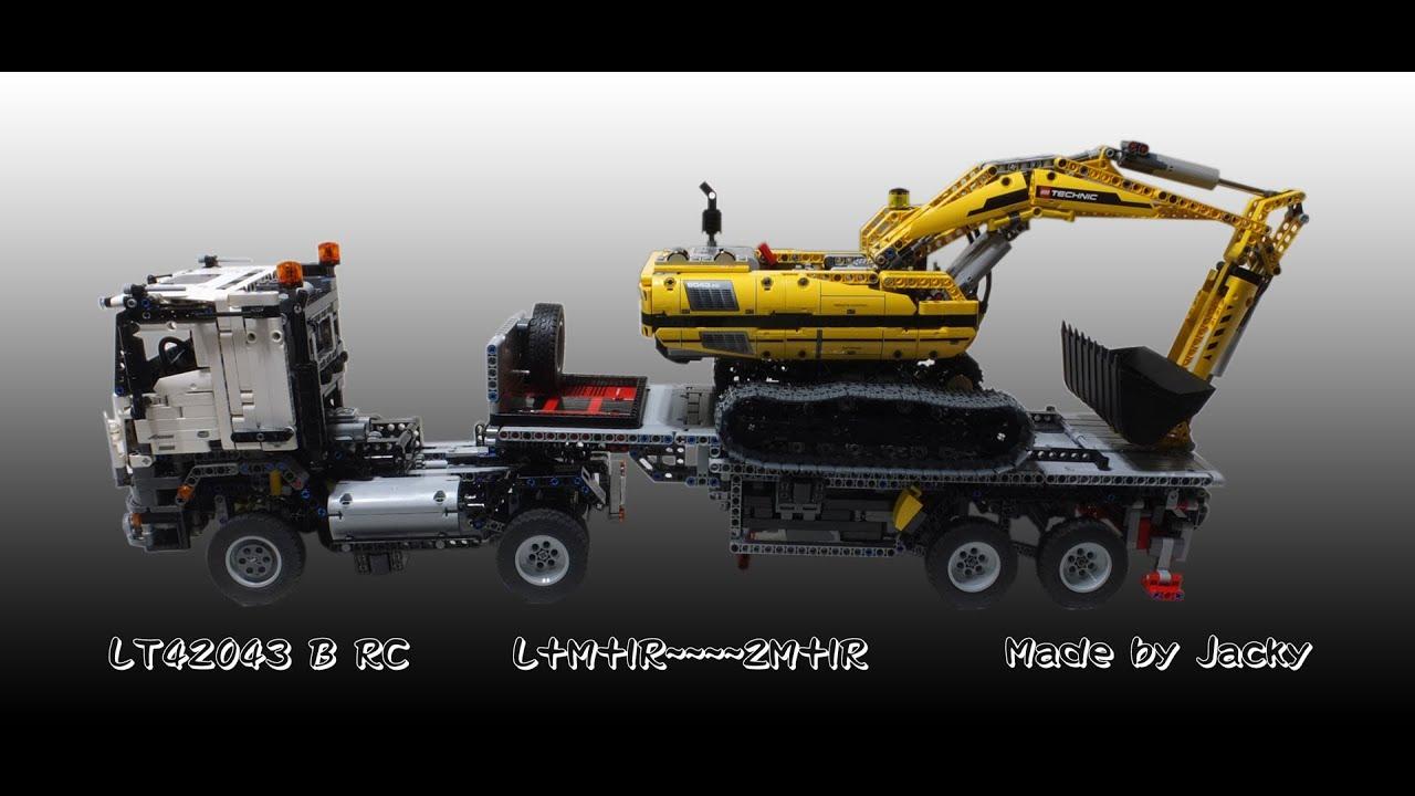 lego 42043 motorized instructions