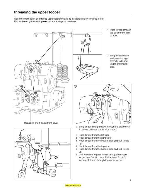 baby lock serger instruction manual