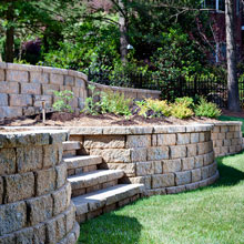 Belgard retaining wall installation guide