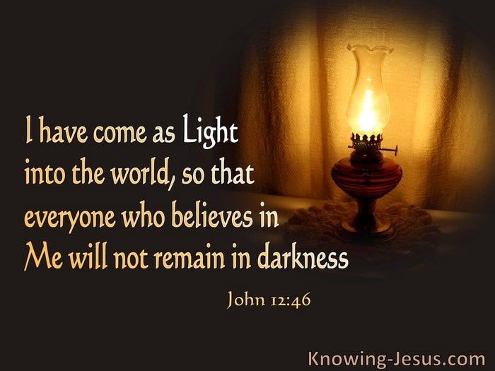 Bible verses jesus our guiding light