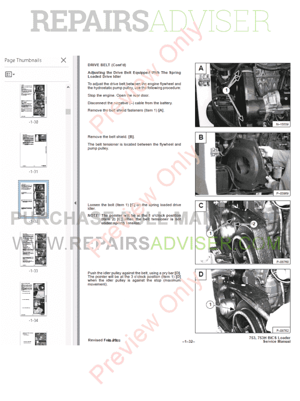 Bobcat 753 service manual full download