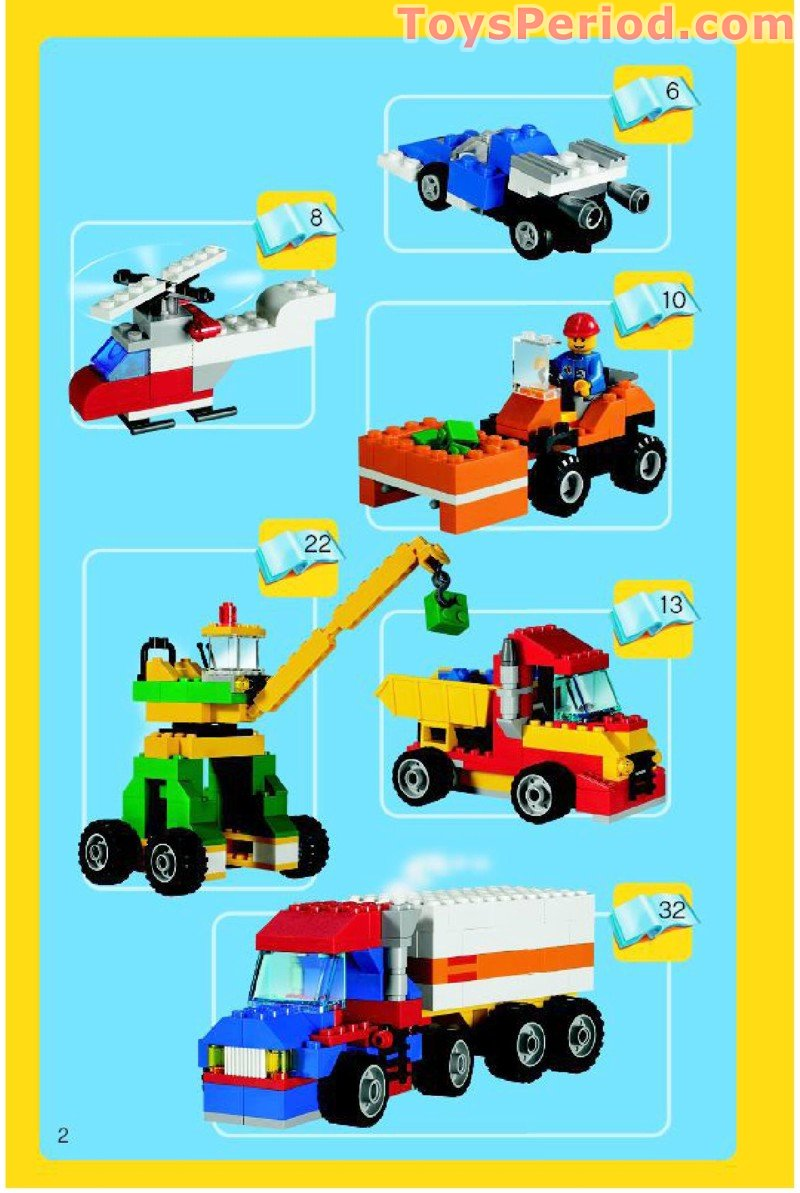 Brick by brick lego instructions
