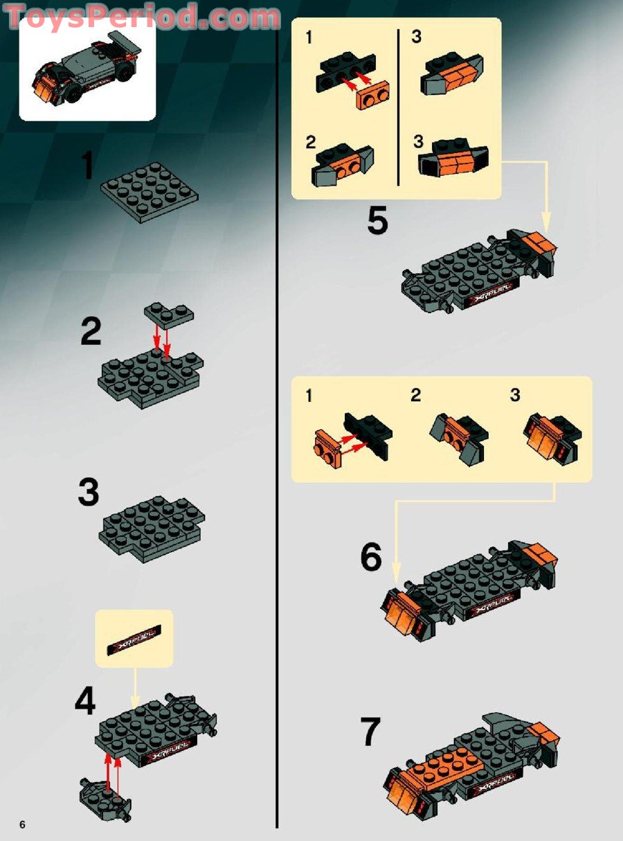 Brick by brick lego instructions