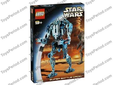 lego star wars super battle droid instructions