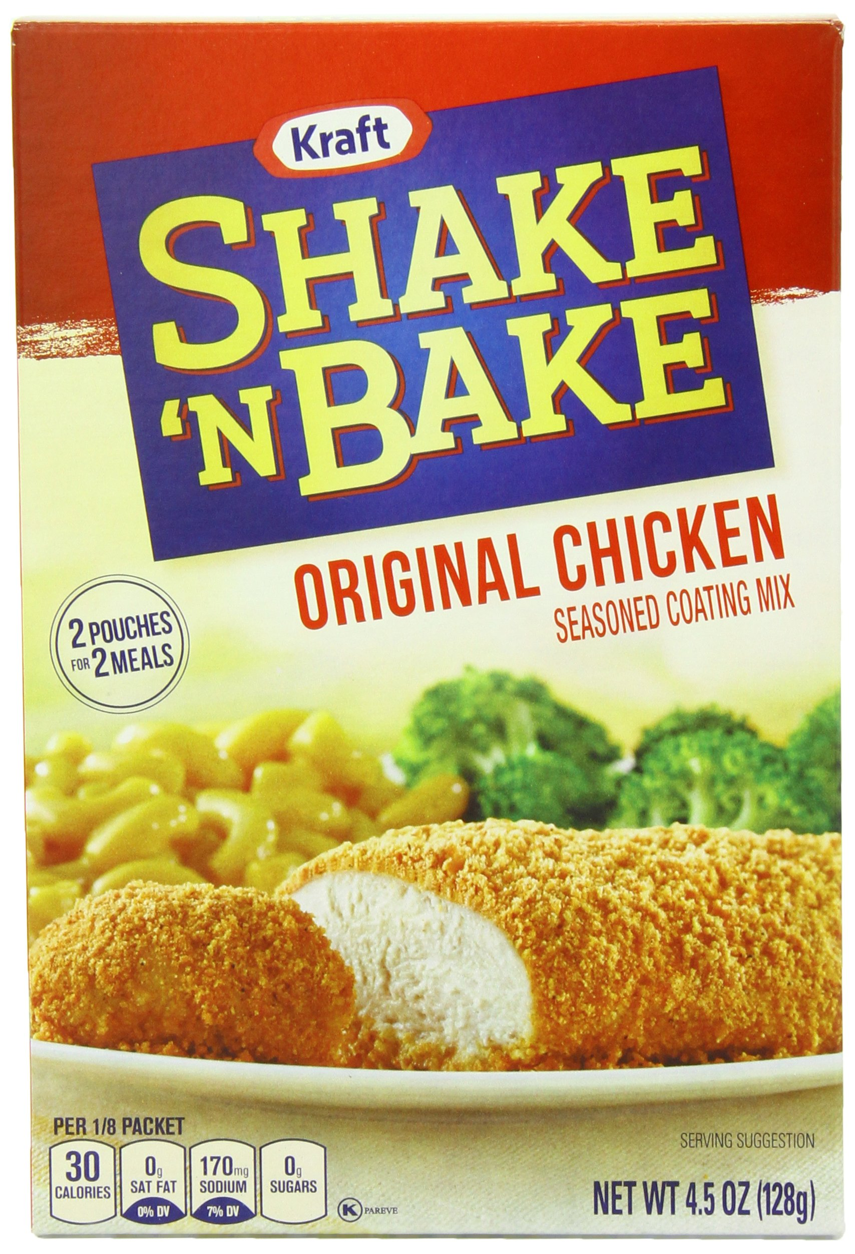 shake and bake method instructions and ingredients