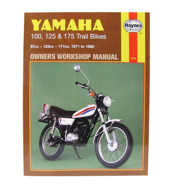 yamaha dt 125 workshop manual