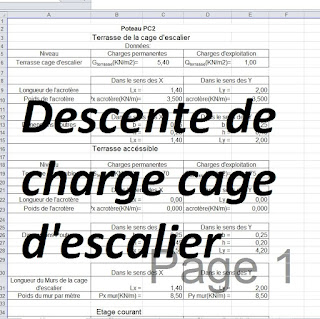 Exercice descente de charge batiment pdf