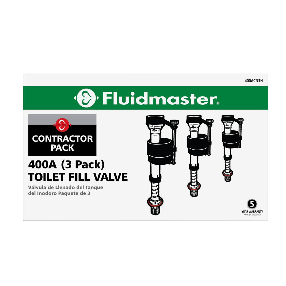 fluidmaster universal toilet fill valve instructions