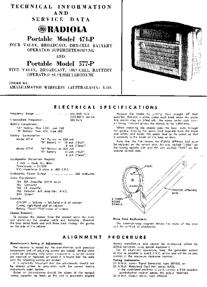 free awa dm726 service manual