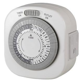 how to set manual light timer