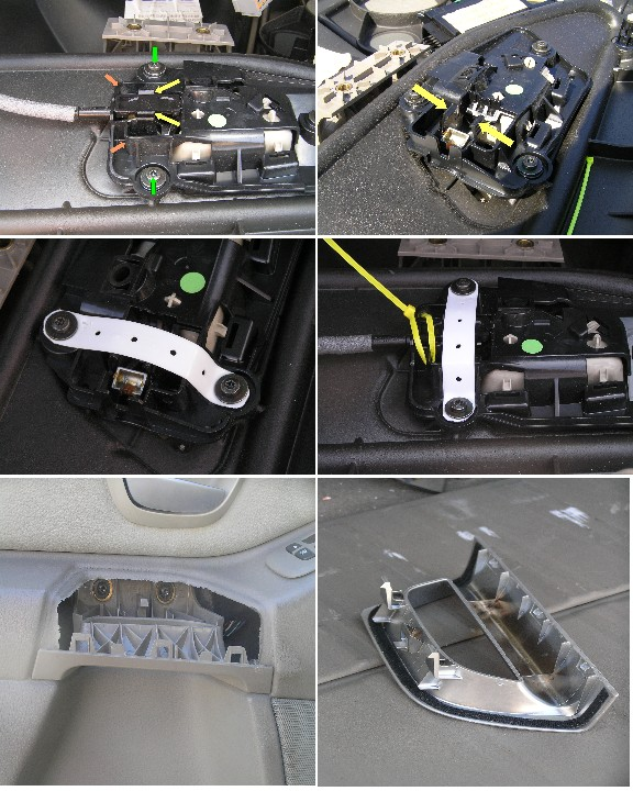 how to unlock 2001 volvo xc70 tailgate manually