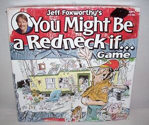 jeff foxworthy you might be a redneck if game instructions