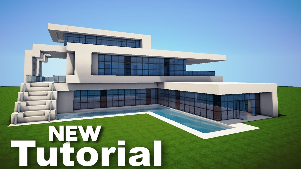 Jeu de minecraft how to build a modern house 11