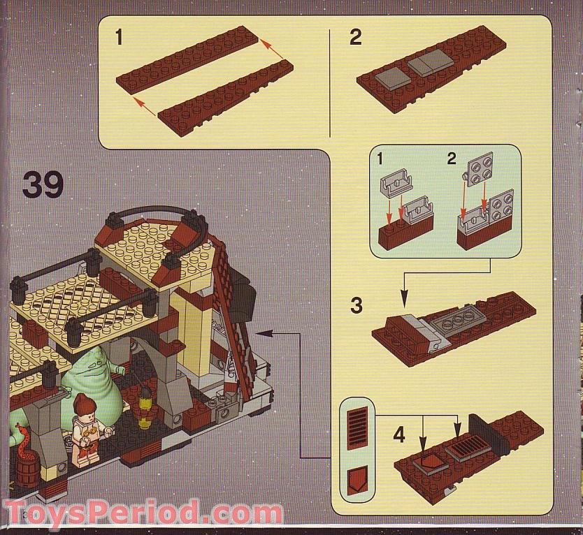 lego 6210 building instructions