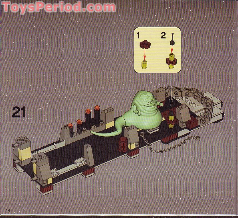 lego 6210 building instructions