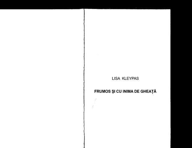 Lisa kleypas frumos si cu inima de gheata pdf