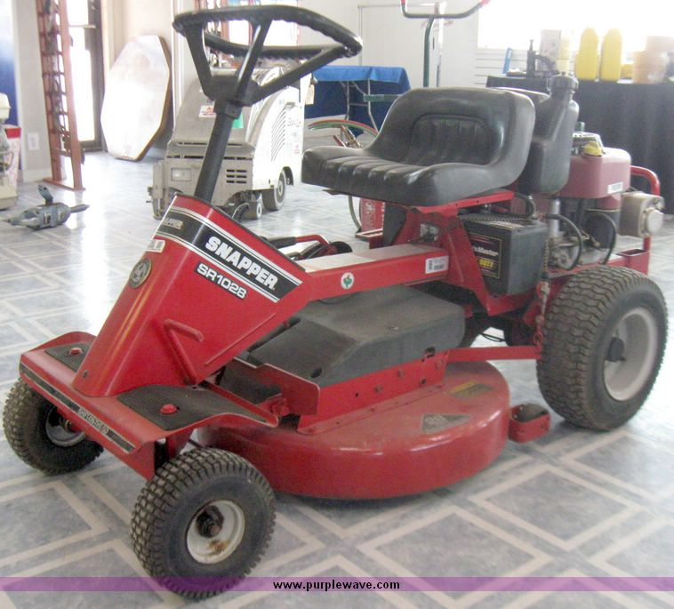 old snapper riding mower manuals